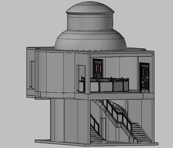 3D laser staircase scan, Scotland ‹ Case studies ‹ Archidata