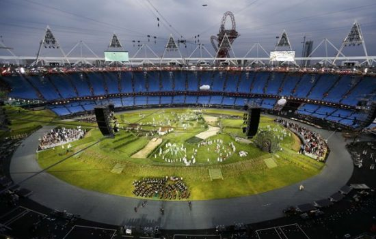 The 2012 London Olympic Opening Ceremony – The Green and Pleasant Land